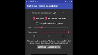Samsung soft keys home and back button android screenshot 2