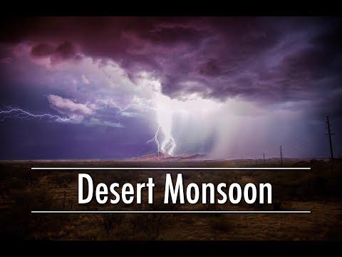 Desert Rain - Monsoons of the Sonoran Desert
