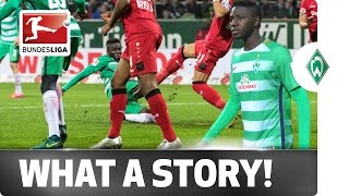 Manneh's the Man - Gambian Refugee Turns Match-Winner for Bremen