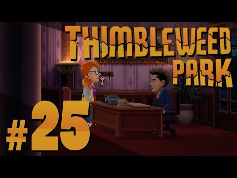 Thimbleweed Park - Open Banking - PART #25