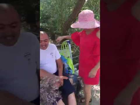 Бабка зашептала))) Прикол! ржачь! угар!))) Приворот!2017 - YouTube