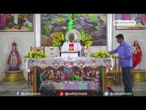 English Mass @ St Anthony's Church, Venkatapuram, Alwal, Sec bad, HYD,TS,INDIA 1 08 18