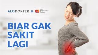 FISIOTERAPI Cara Mengatasi Saraf Kejepit Pinggang / HNP | Mengobati Syaraf Terjepit Tulang Belakang.