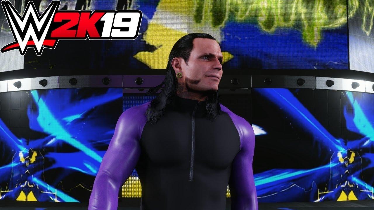 WWE 2K19 - Jeff Hardy (Entrance, Signature, Finisher)