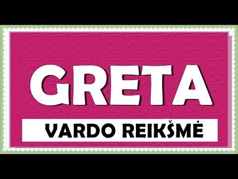 VARDAS GRETA- RIKŠMĖ, KILMĖ, HOROSKOPAS