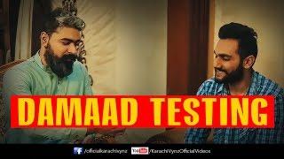 DAMAD TESTING | KARACHI VYNZ | Mansoor Qureshi MAANi