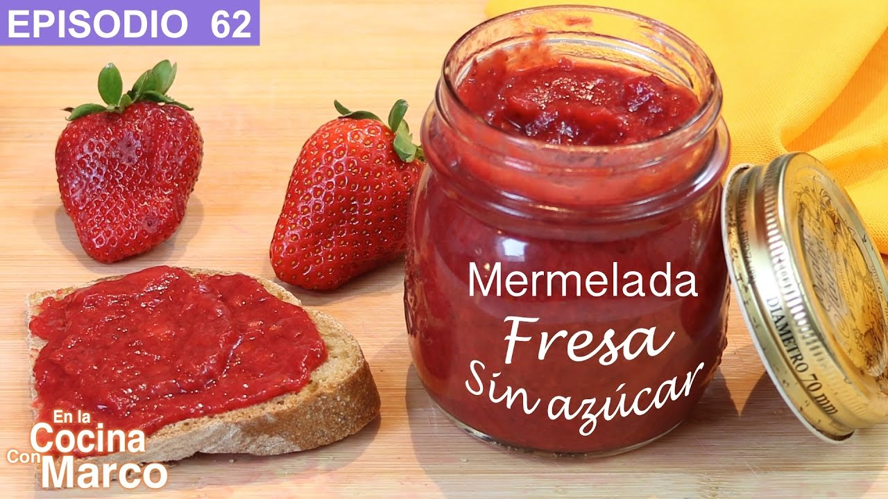 Mermelada light casera manzana