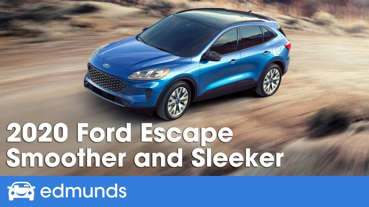 2021 Ford Escape Models And All Prices >> 2020 Ford Escape Redesign First Look Edmunds