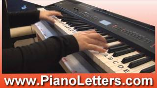Commander by Kelly Rowland Piano Cover