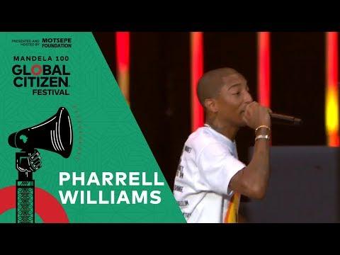 Chris Davis - Global Citizen Festival: Mandela 100 - Pharrell Williams 'Happy'