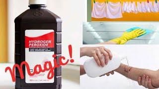 Amazing Use of Hydrogen Peroxide at Home, ऐसे करें घर में हाइड्रोजन पेरोक्साइड का इस्तेमाल|H2O2
