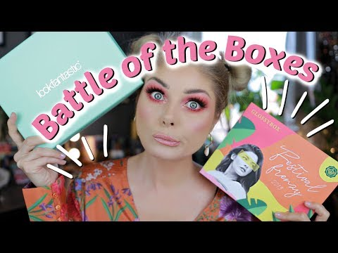 Glossy Box vs. Look Fantastic | Battle Of The Boxes July 2019 thumbnail