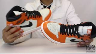 air jordan 1 retro reverse shattered backboard unboxing video at exclucity