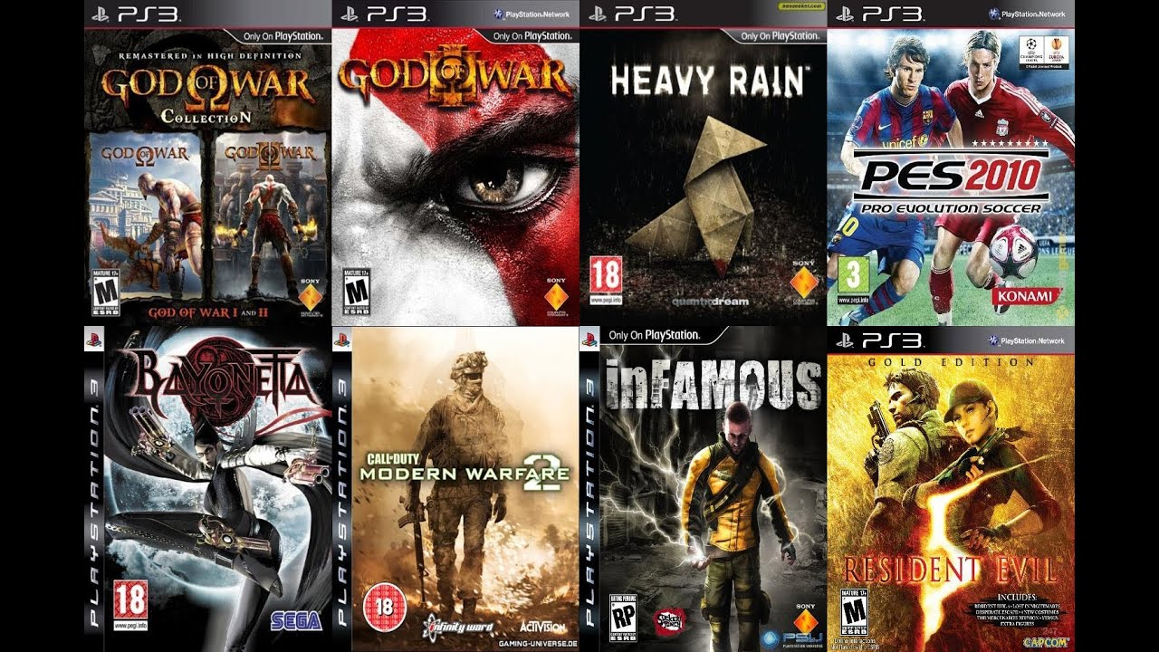 MY PS3 GAME COLLECTION AS OF 2015 (95 GAMES) 9 YEARS In ...