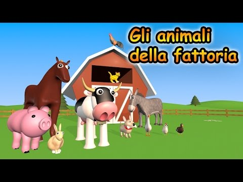 Gli animali della fattoria alexkidstv youtube for Fattoria immagini da colorare