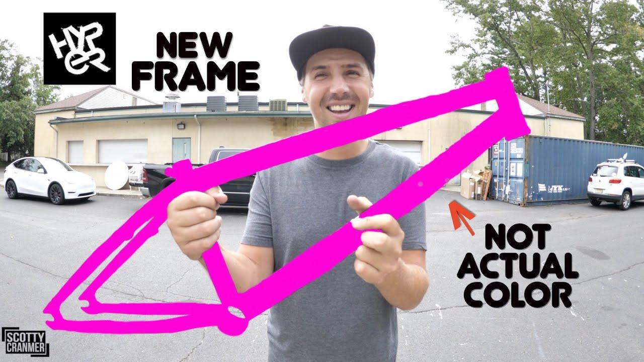 My New BMX Frame Reveal!