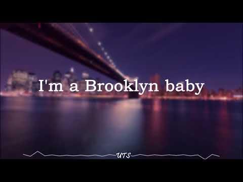 Lana Del Rey - Brooklyn baby (Lyric Video)