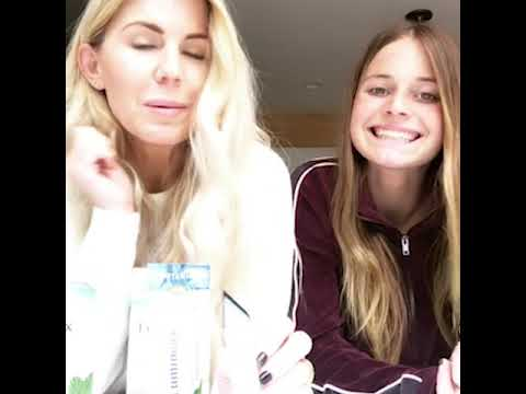 Lisa Reviews Lumineux Whitening Strips With Her Daughter Youtube