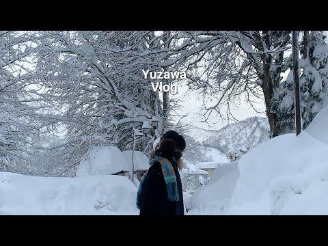 일본 겨울 여행 / 눈 내리는 유자와로 홀로 떠나는 힐링 브이로그