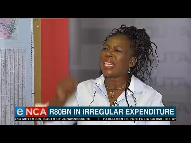 R80bn in irregular expenditure