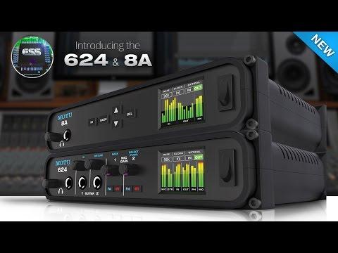 MOTU 8A Thunderbolt/USB 3 0 Audio Interface