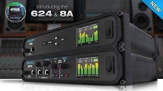 NAMM 2017: the new 624 and 8A audio interfaces