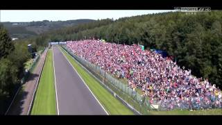 2012 F1 Belgium Grand Prix Sky Sports End of Race Edit Montage Outro HD