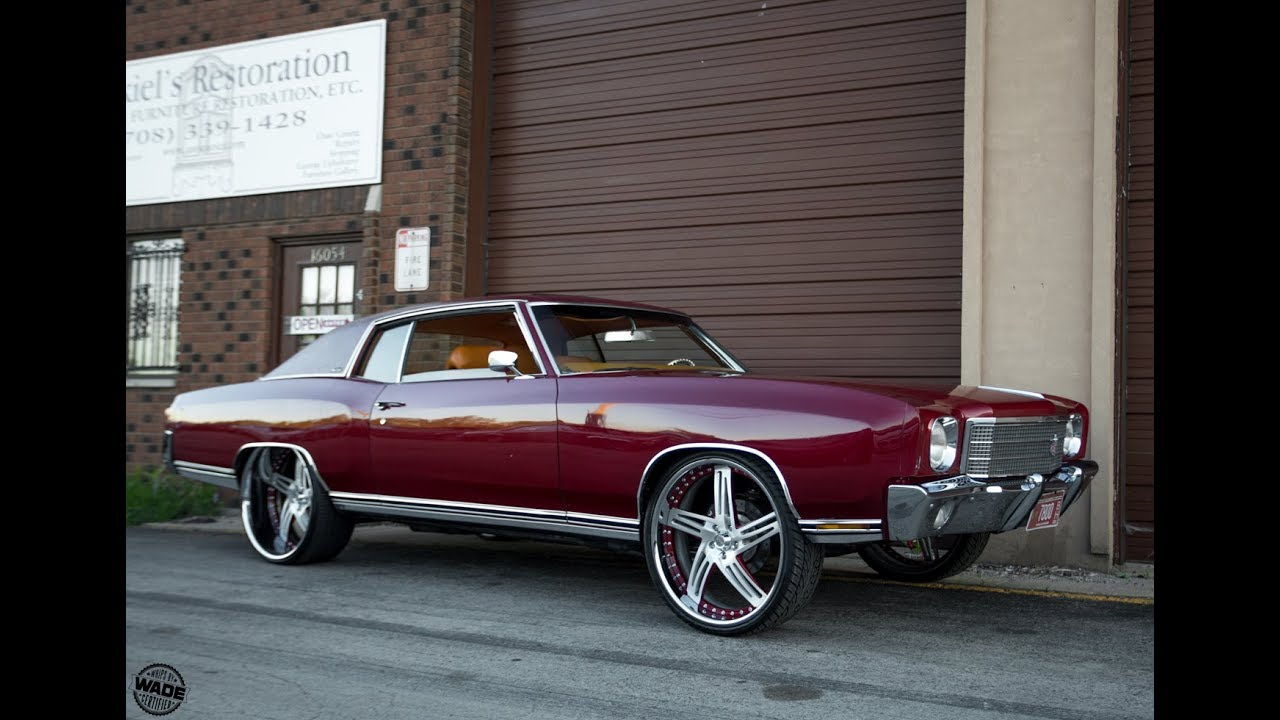 Chicago Whips : 1970 Chevrolet Monte Carlo on 24 ...