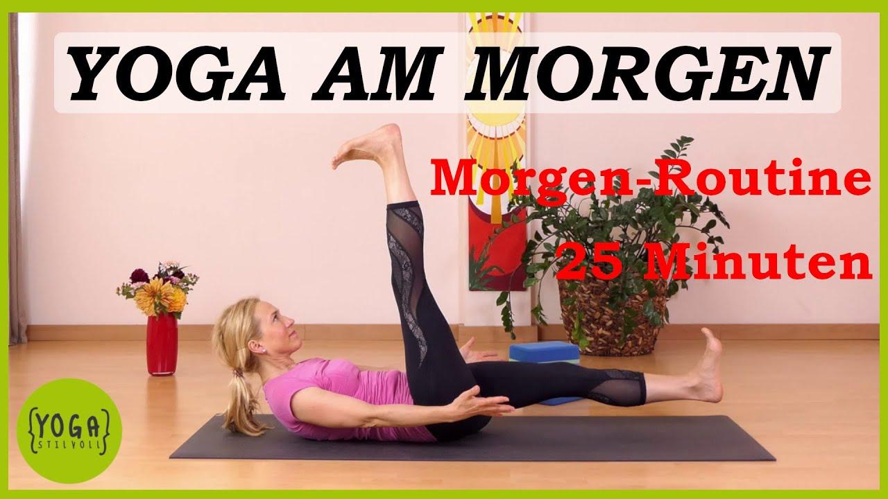 Yoga Am Morgen Energie Lebensfreude Mit Tollen Videos
