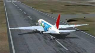 FS2004-JAPAN AIRLINES BOEING 777-TOKYO NARITA TO NEWYORK JFK PART 1