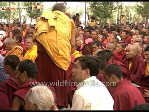 His Holiness the Dalai Lama leads Kalachakra at Tabo Monastery in Himachal