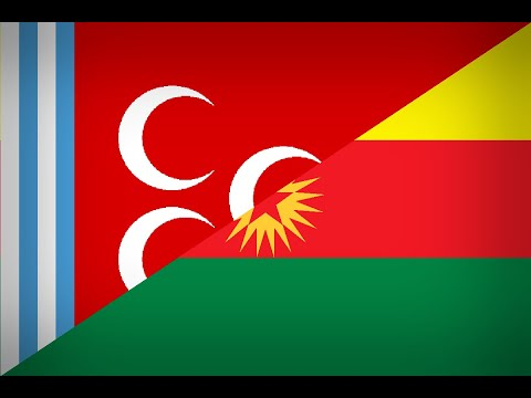 A post soviet russia: The Turkish state and Kurdish Republic