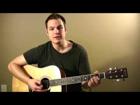 Amazing Grace My Chains Are Gone (Chris Tomlin) Tutorial with Chord Chart