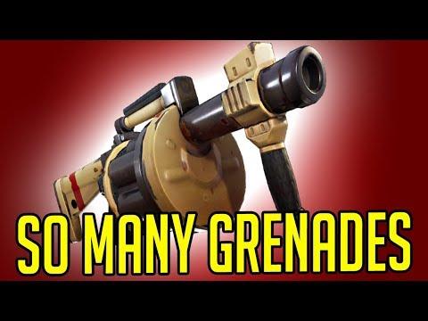 SO MANY GRENADES! (Fortnite)