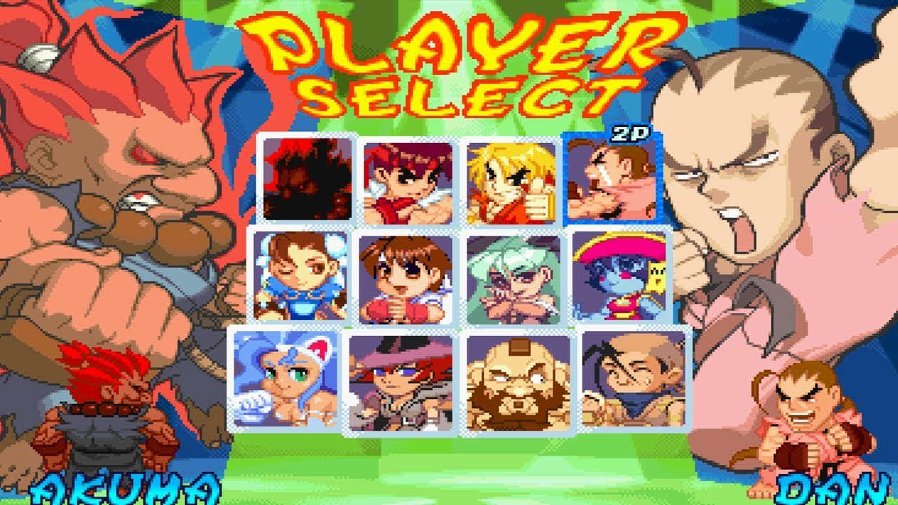 Pocket Fighter All Characters [PSX]