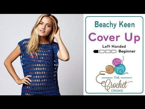a57a580383 Crochet Beach Cover Up + Tutorial | The Crochet Crowd