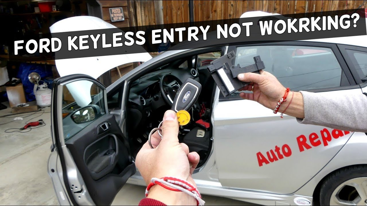 Ford Keyless Entry Not Working Antenna Receiver Location