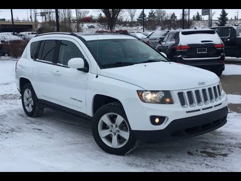 2017 Jeep Compass High Altitude Articulating Liftgate Speakers Alberta 18rc9410a Crosstown Youtube