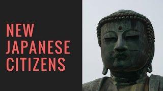 New Japanese citizens