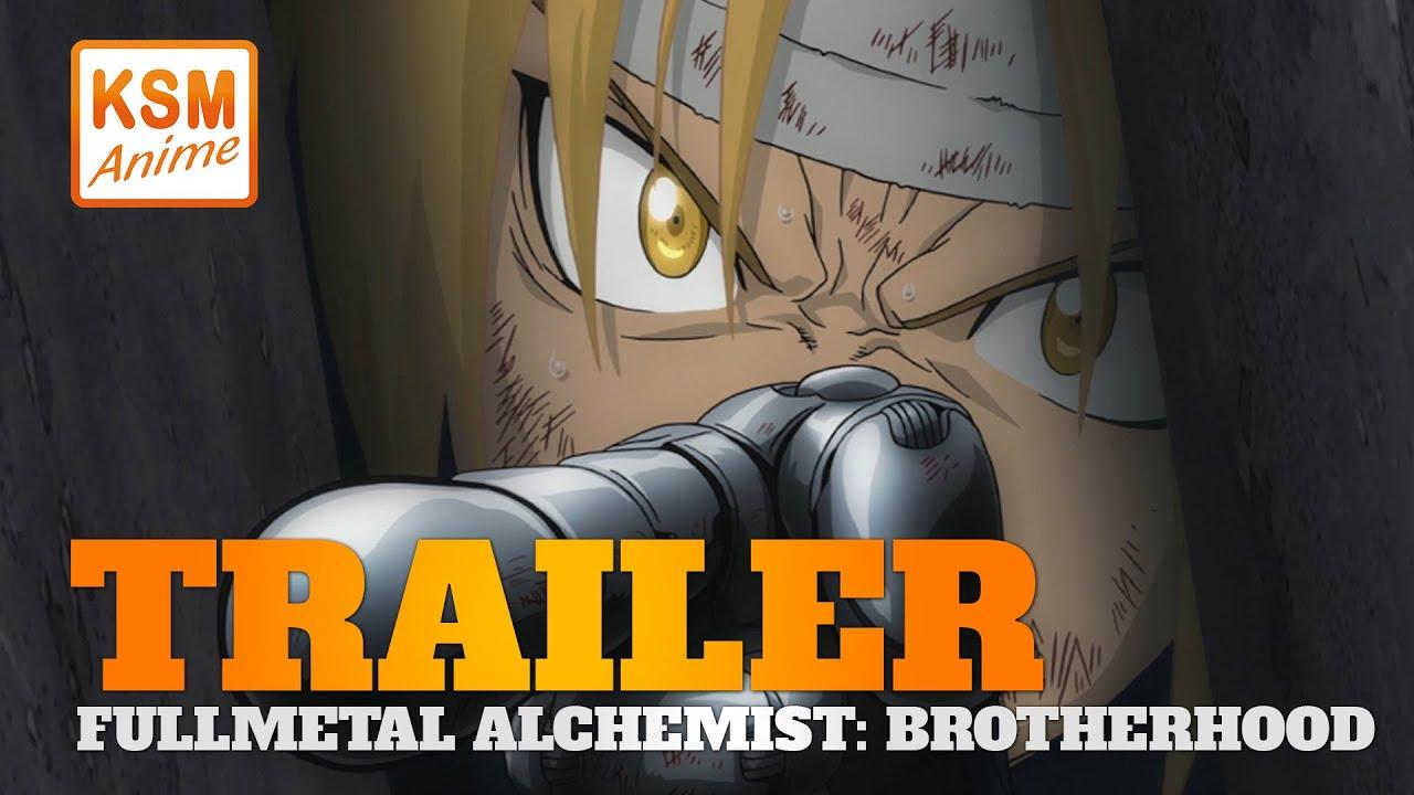 Fullmetal Alchemist Brotherhood - Trailer