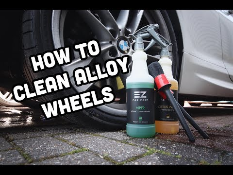 HOW TO CLEAN ALLOY WHEELS - TYRE & RIM *EZ CAR CARE*