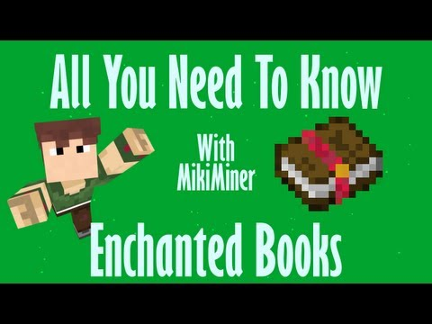 Minecraft - Enchanted Books - All You Need To Know EP01