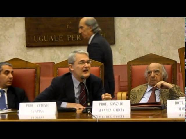 MEG Onlus  Prof. Antonio La Spina - Diritti dei cittadini e politica dell'unione europea