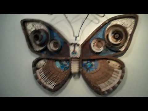 Trash Menagerie - Art from Recycled Material