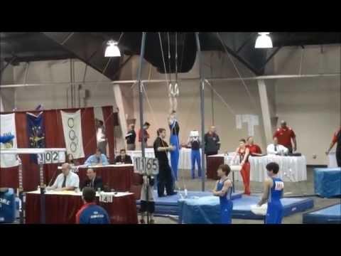 region 4 mens gymnastics meet 2014