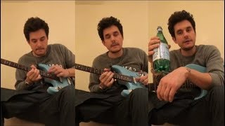 John Mayer Gives Guitar Lessons to his fans | Inst