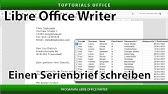 Geschäftsbrief Nach Din 5008 In Writer Libreoffice 6 German