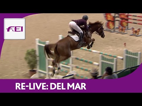 Re-Live | Del Mar | Longines FEI World Cup™ Jumping 2016/17 NAL | Del Mar Charity