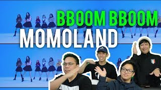 "MOMOLAND explode with ""BBOOM BBOOM"" (MV Reaction) #roadto100k"