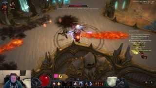 Diablo 3 Reaper of Souls Beta: End Game - All Classes Gameplay